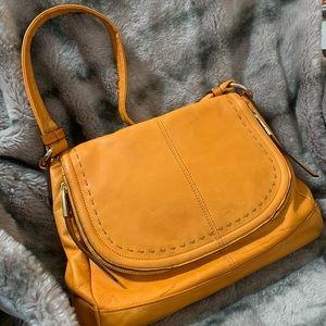 B. Makowsky Soft Leather Shoulder Handbag